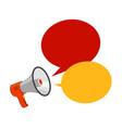 loudspeaker megaphone advertising announcement