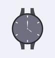wristwatch icon vector image vector image