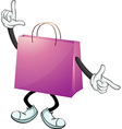 A purple bag vector | Price: 1 Credit (USD $1)