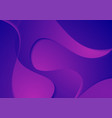 abstract blue violet corporate waves background vector image vector image