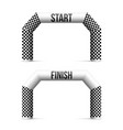 creative of finish line vector image vector image