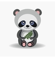 Funny forest panda vector image vector image