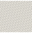 Hand Drawn Wavy Diagonal Lines Seamless vector image