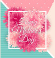 Happy mother s day cute background with flowers
