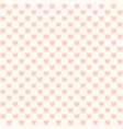 rose checkered pattern with hearts seamless vector image vector image