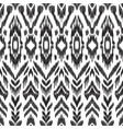 seamless pattern ikat wallpaper vector image