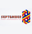 september 8 andorra independence day vector image vector image