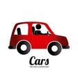 Transport design over white background vector image
