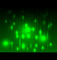 abstract green background in the style of a matrix vector image
