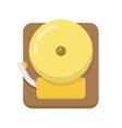 alarm bell flat icon