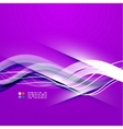 Beautiful wave modern template vector image