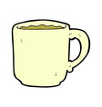 Comic cartoon coffee mug