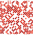 geometrical dot pattern background vector image vector image