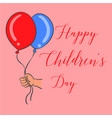 happy childrens day design style vector image vector image