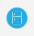 refrigerator icon sign symbol vector image vector image