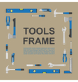 tools frame 5 vector image vector image