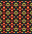 tribal art ethnic seamless pattern aztec abstract vector image vector image