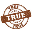 true stamp vector image vector image