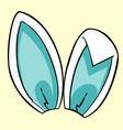 Blue bunny ears