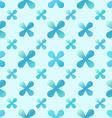 blue creative seamless pattern vector image