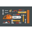 Construction Tools Objects vector image vector image
