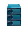 data center server icon image vector image vector image