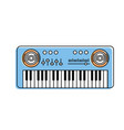 piano musical instrument to play music vector image