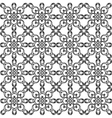 seamless pattern monochrome ethnic religious vector image vector image