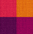 set of colourful stockinette stitch textures vector image vector image