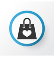 shopping bag icon symbol premium quality isolated vector image vector image