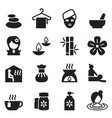 spa beauty healthy massage icons set 2 vector image