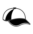 sports cap icon image vector image vector image