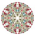 Antique ottoman turkish pattern design nine vector image vector image