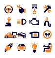 auto and repair vector image