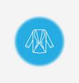 blazer icon sign symbol vector image vector image