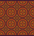 colorful tribal ethnic seamless pattern vector image vector image