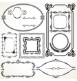 Design Borders and Frames vector image vector image
