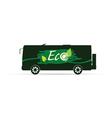 eco bus vector image