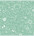 seamless background baby care vector image vector image