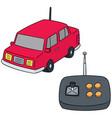 set of remote control car vector image