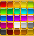 square buttons seamless vector image vector image