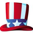 us cilinder hat vector image