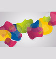 background from abstract bright petals vector image vector image