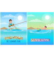 best lovely summer time color vector image vector image