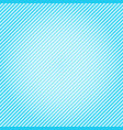 blue gradient diagonal lines pattern repeat vector image vector image