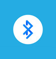 bluetooth icon sign symbol vector image