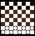 chessboard and checkerschessboard vector image