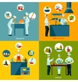 Cooking People Set vector image vector image