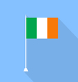 Ireland Flag of a flat design vector image