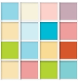 Seamless mosaic from colorful squares vector image